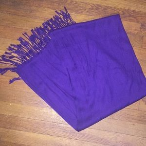 Brand new purple scarf